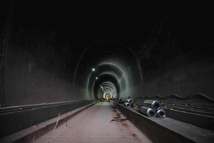 Cortanovci tunelinin tikintisi